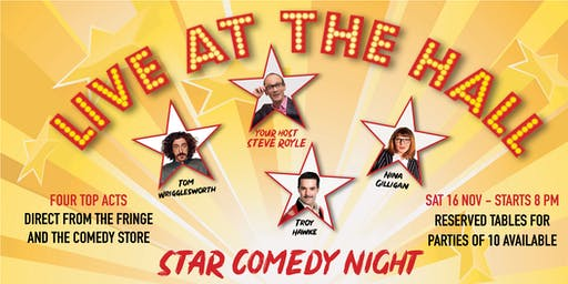 Star Comedy Night - Live at the Hall