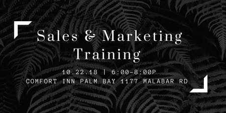 FREE Sales, Marketing, and Closing Training  tickets
