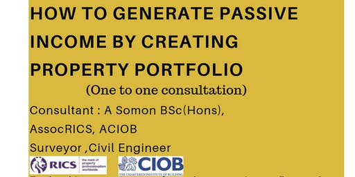 HOW TO GENERATE PASSIVE INCOME BY CREATING PROPERTY PORTFOLIO