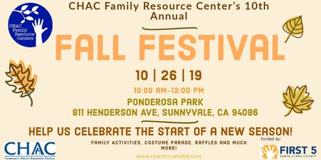 CHAC Family Resource Center Fall Festival tickets