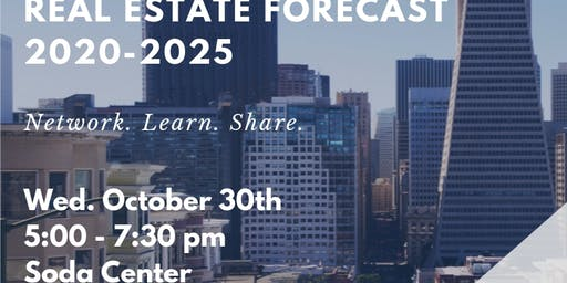 NEW LINK WED OCT 30TH 5 PM: St. Mary's College (SMC)/School of Economics and Business Administration (SEBA), FINANCE CLUB EVENT: Economic and Real Estate Forecast: 2020 -to- 2025 (Updated: Mon Oct 21st 7:30 am)