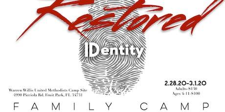 Restore 2020 Camp tickets
