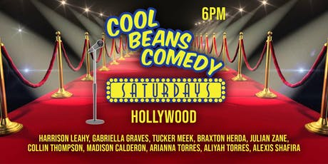 Cool Beans Hollywood Teen Show 6PM tickets