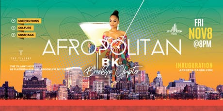 AfropolitanBK (Brooklyn) - Inauguration - Largest Afterwork Cultural Mixer Launching in Brooklyn tickets