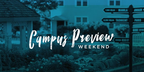 BGU Campus Preview Weekend Spring 2020 tickets