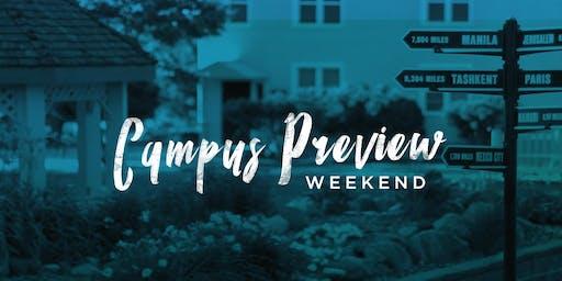 BGU Campus Preview Weekend Spring 2020