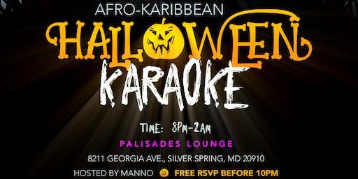 Afro-Karibbean Halloween Karaoke