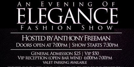 An Evening of Elegance Fashion Show  tickets