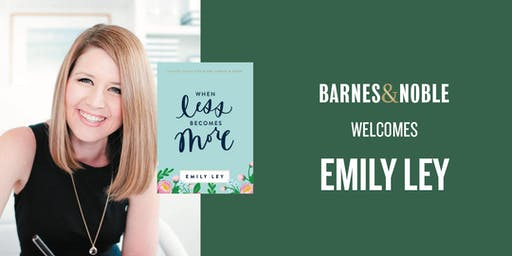 Emily Ley at Barnes & Noble Atlanta/Cumberland