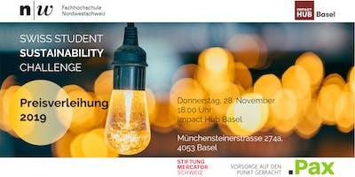 Swiss Student Sustainability Challenge – Preisverleihung 2019