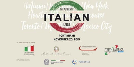 The Authentic Italian Table - Food & Wine Festival tickets