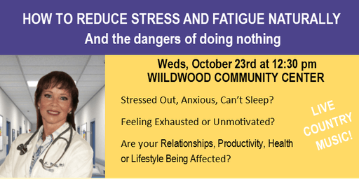 HOW TO REDUCE STRESS AND FATIGUE NATURALLY