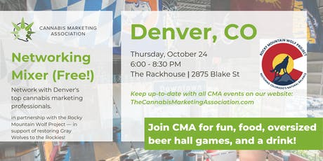 Cannabis Marketing Association Denver — Networking Mixer (FREE) tickets