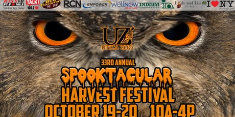 33rd Annual Utica Zoo Spooktacular Harvest Festival-2019 tickets