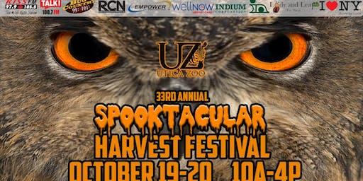 33rd Annual Utica Zoo Spooktacular Harvest Festival-2019