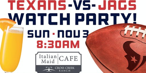 Texans vs. Jags Watch Party