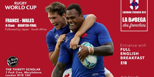 Rugby World Cup / France-Wales in London