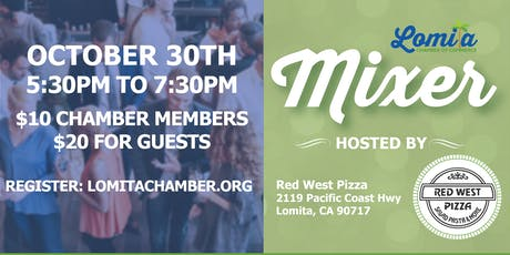 October Networking Mixer [Lomita Chamber] tickets