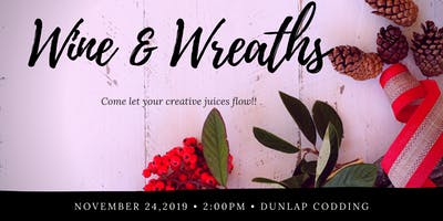 Wine and Wreaths Craftmas Edition