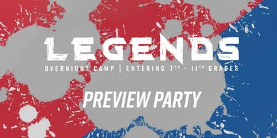 CG Victory LEGENDS Camp Preview Party
