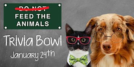 Feed the Animals Trivia Bowl 2020 tickets
