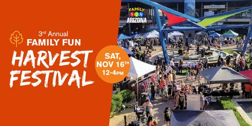 3rd Annual Family Fun Harvest Festival!