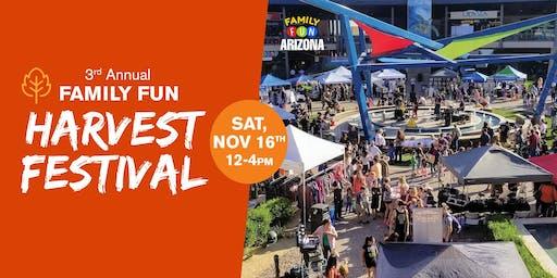 3rd Annual Family Fun Harvest Festival!