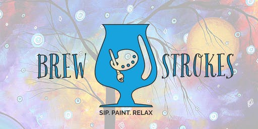 Brew Strokes- Sip. Paint. Relax