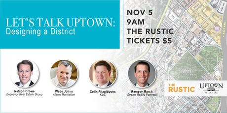 Let's Talk Uptown: Designing a District tickets