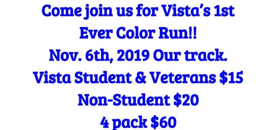Vista Color Run for Veterans