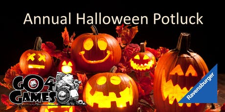 Annual Halloween Potluck Board Game Night! tickets