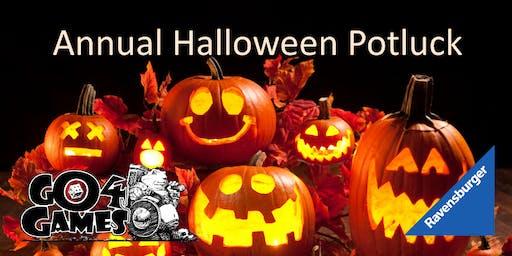 Annual Halloween Potluck Board Game Night!