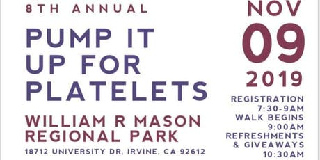 Pump It Up For Platelets 5k 2019 tickets