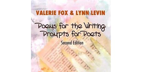 Valerie Fox & Lynn Levin Host Mini Writers' Workshop and Discussion tickets