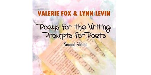 Valerie Fox & Lynn Levin Host Mini Writers' Workshop and Discussion