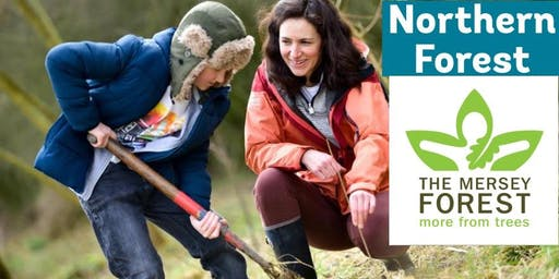New Mills Tree Planting Event #NorthernForest