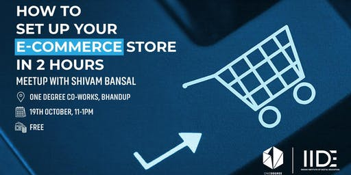 How to setup your e-commerce store in 2 hours