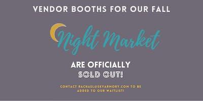 Fall Night Market 2019 Vendor Registration