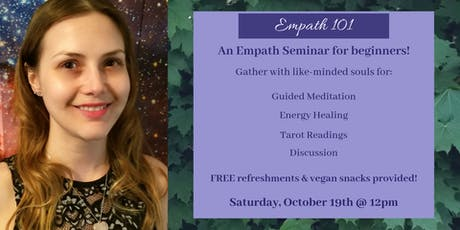 Empath 101 - A Workshop tickets
