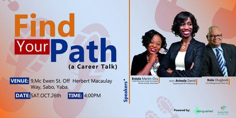 Find Your Path (FREE Career Talk) tickets