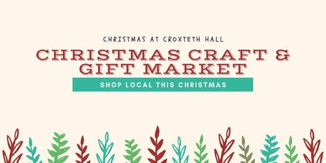 Liverpool Christmas Craft & Gift Market - Croxteth Hall tickets