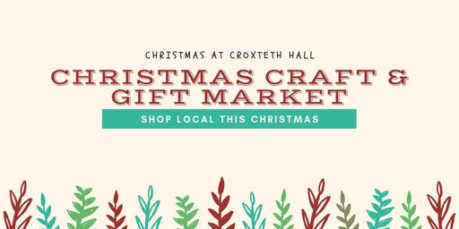 Liverpool Christmas Craft & Gift Market - Croxteth Hall