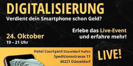 Digitalisierung - Verdient dein Smartphone schon Geld? tickets