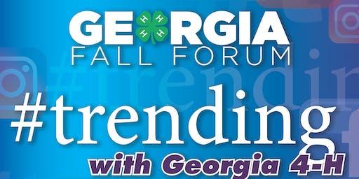 Fall Forum (Grades  9-12/ $98)