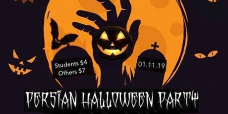 Persian Halloween Party - ISAUO tickets