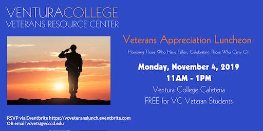 Veterans Appreciation Luncheon