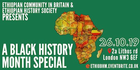 A Black History Month Special tickets