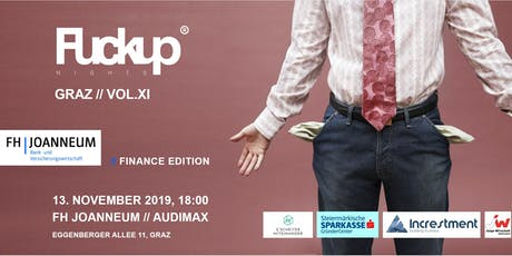 Fuckup Night Graz // VOL.XI Tickets