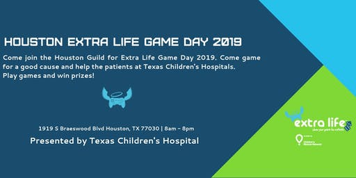 Houston Extra Life Game Day 2019