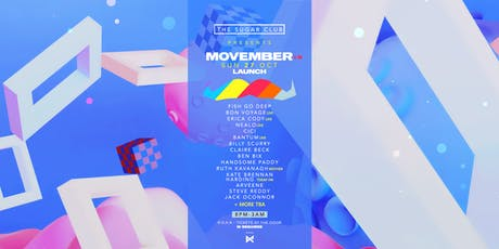 Movember Launch 2019 tickets